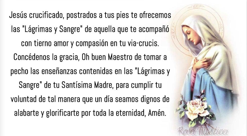 como rezar el rosario de la rosa mystica