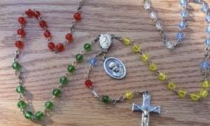 Cómo rezar el rosario misionero