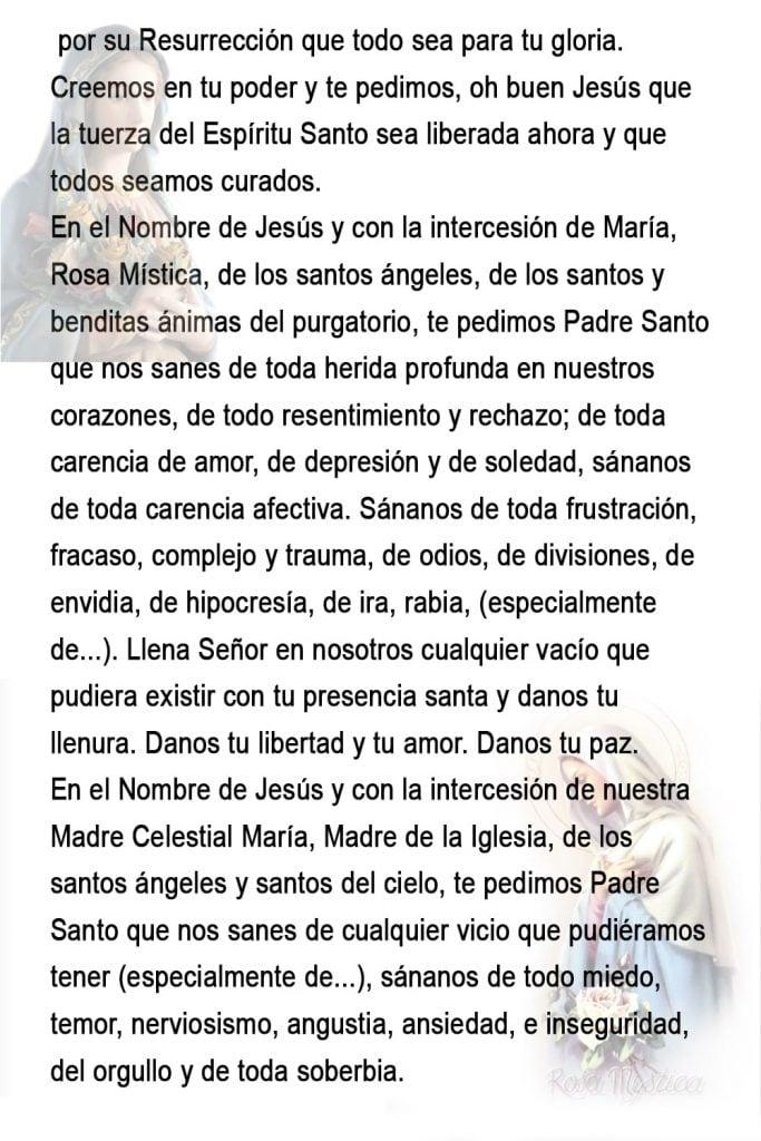 como rezar el rosario de la rosita mistica