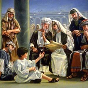 El niño Jesús hallado en el Templo