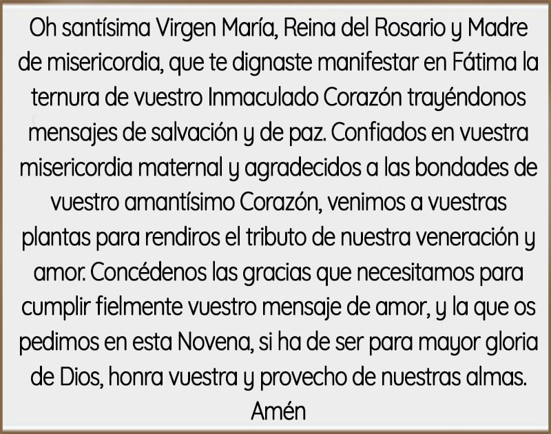 Como rezar el rosario a la virgen de Fátima-min
