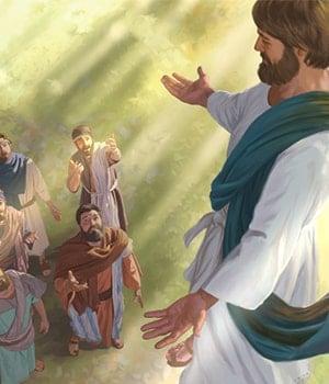 El ascenso de Jesús al Reino de los cielos