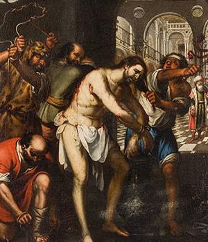 flagelacion de jesus - misterios dolorosos del santo rosario