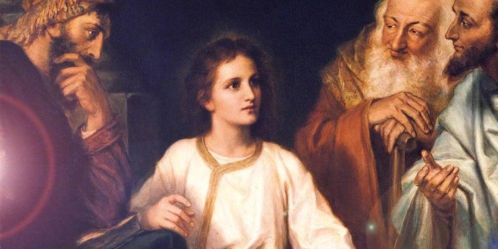 jesus el nazareno de 12 años