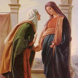 María visita a Santa Isabel
