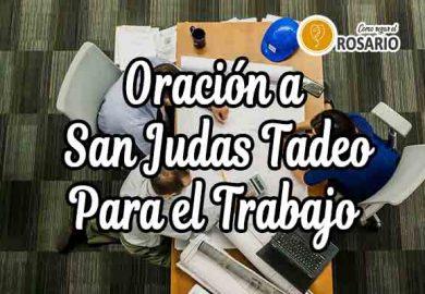 Oración a San Judas Tadeo para el trabajo