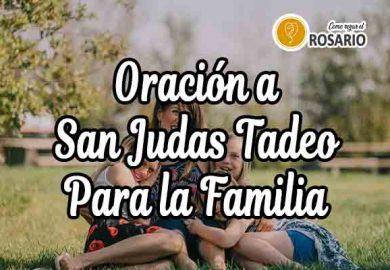 Oración a San Judas Tadeo para la Familia
