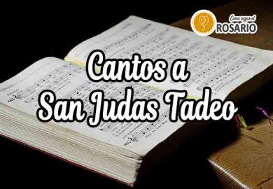 Cantos a San Judas Tadeo