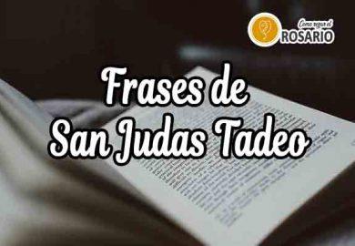 Frases de San Judas Tadeo: De Agradecimiento y Bonitas