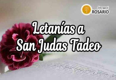 Letanías a San Judas Tadeo