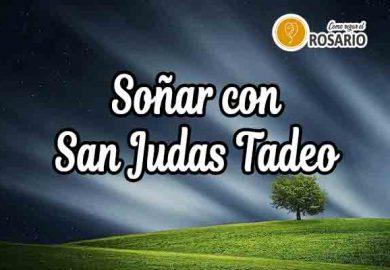 Qué significa soñar con san Judas Tadeo