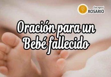 Oración para un Bebé Fallecido: Descansa en Paz
