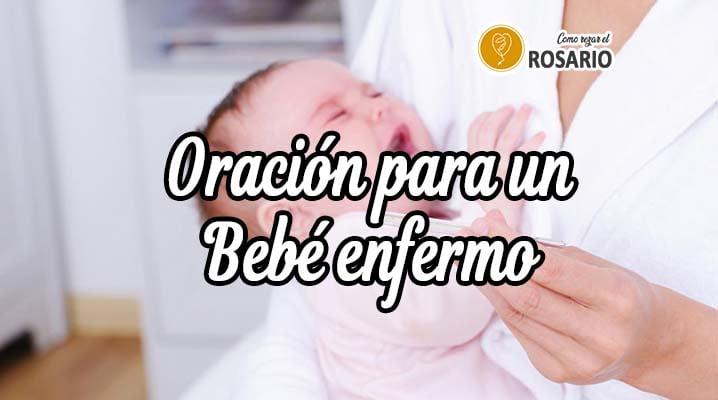 Oración para un Bebé Recién Nacido enfermo