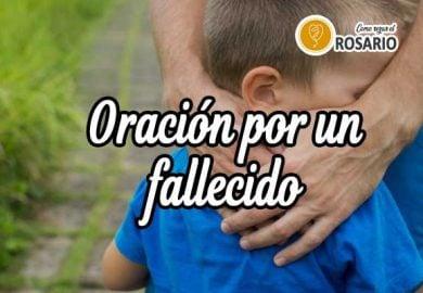 Oración por un hijo fallecido: Descansa en Paz