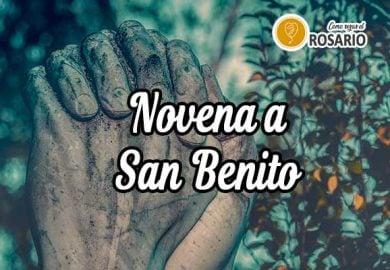 Novena a San Benito: Paso a paso