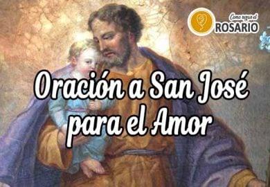 Oración a San José para el Amor