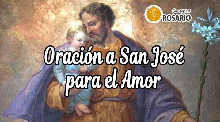 oracion a san jose para el amor