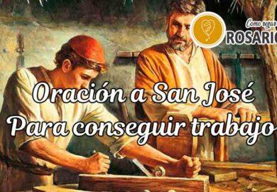 Oración a San José para conseguir trabajo
