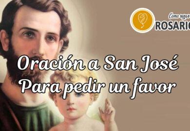 Oración a San José para pedir un favor