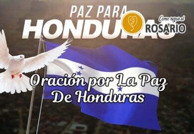 Oración por la paz de Honduras