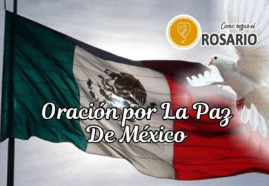 Oración por la paz de México