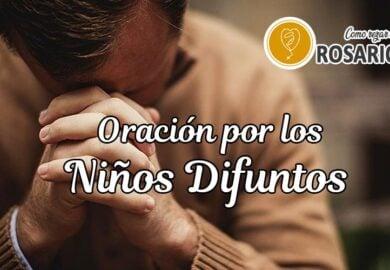 Oración por los niños difuntos y fallecidos