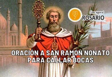 Oración a San Ramón Nonato para callar bocas
