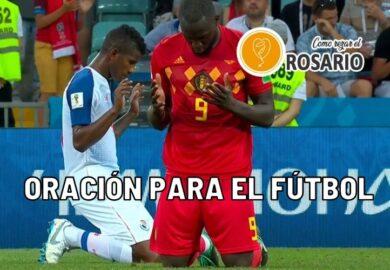 Oración para el fútbol: Santos para Rezar