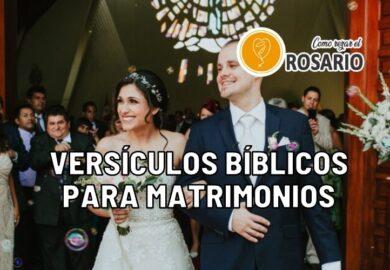 15 Versículos Bíblicos para Matrimonios