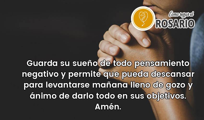 Oración para bendecir a los hijos antes de dormir